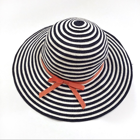 Janie and Jack Other - Janie & Jack baby infant girls striped summer hat